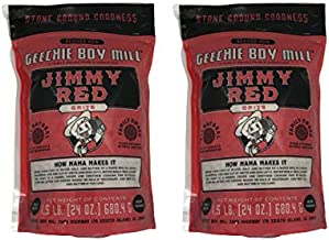 product image for Geechie Boy Mill Jimmy Red Grits (Pack of 2 24 Oz Bags)