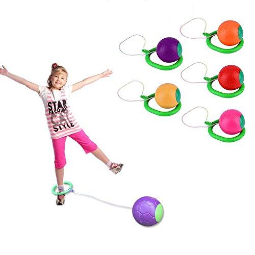Gemini_mall® Lustiger Kinder-Knöchel-Springball, Übung, Reifen-Sprung, Spielplatz, Spielzeug, Outdoor, Spiel, Geschenk