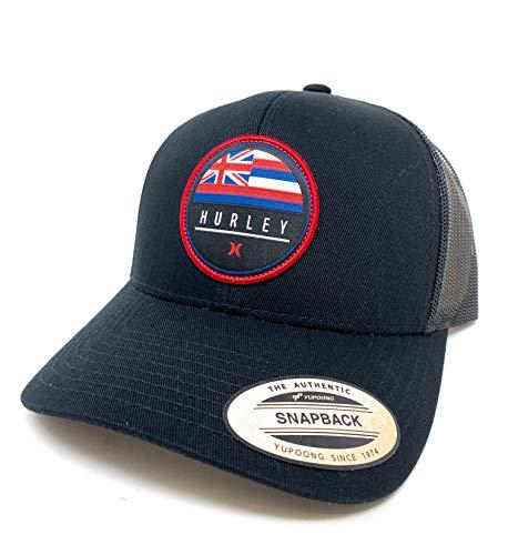 Hurley Men's Destination Curved Bill Trucker Baseball Cap Hat, Size One Size, Hawaii