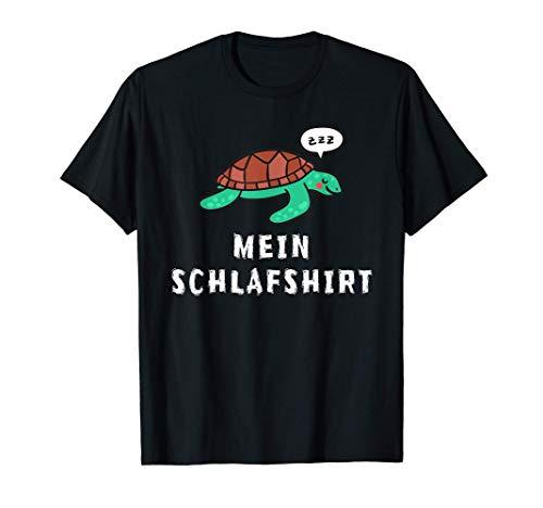 Süße Schildkröte Schlaf Outfit Nachthemd Pyjama Schlafanzug T-Shirt