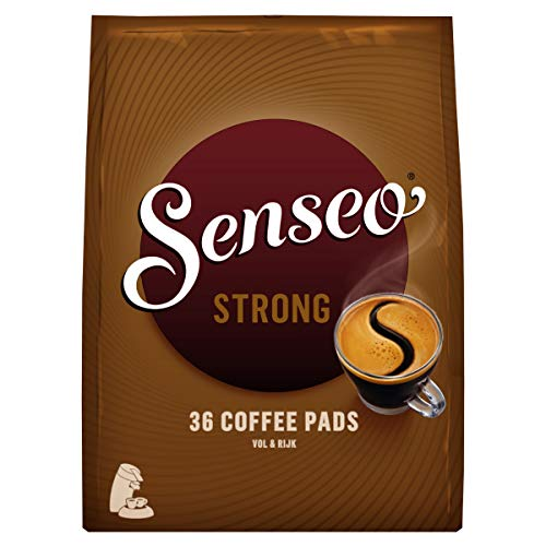 Senseo Kaffeepads Kräftig / Strong, Intensiver und Vollmundiger Geschmack, Kaffee, 360 Pads