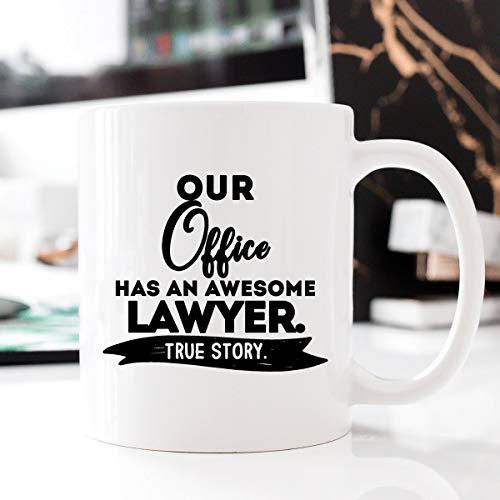 Our Office Has an Awesome Lawyer Office Lawyer Geschenk für Büro Rechtsanwalt Geschenk Anwalt Anwalt Tasse Beruf Tasse Kaffeebecher Anwalt