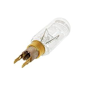 Home Parts Ltd Ampoule pour réfrigérateur congélateur de style américain T-Click pour Whirlpool 40W 230V