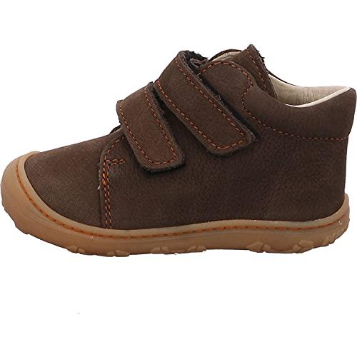 RICOSTA Unisex - Kinder Boots Chrisy von Pepino, Weite: Mittel (WMS),terracare,Klettstiefel,Leder,Kids,junior,Army (594),24 EU / 7 Child UK