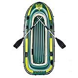 KUANDARMX Balsa Inflable para Kayak De 198 Cm, Bote De Goma Inflable Engrosado para 2/3/4 Personas, Kayak Plegable para Adultos, Pesca, Rafting Al Aire Libre, 280cm