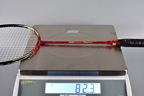 YONEX - Nanoray 68 Light Rudy Hartono Series NR-68LITE Black Red Badminton Racket (5U-G5)