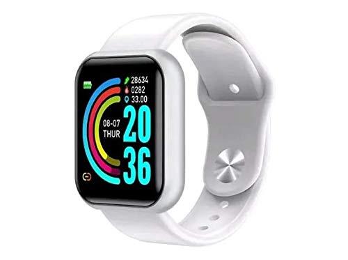 Relogio inteligente Smart watch D20 Cor:Preto (BRANCO)