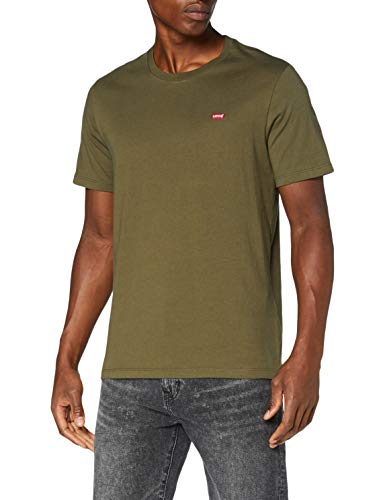 Levi's Mens SS Original HM Tee T-Shirt, Olive Night, XXL