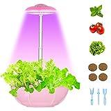Hydroponics Growing System - Smart Indoor Garden Kit Height Adjustable Led Desklamp