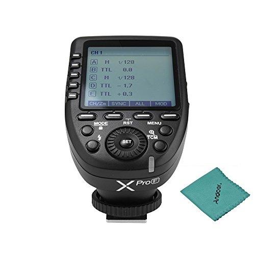 Godox Xpro-F TTL Wireless Blitz Flash Trigger High Speed Autoflash 1/8000 s HSS Große LCD 5 Gruppentasten 11 Anpassbare für Fujifilm GFX50S X-Pro X-T X-T X-T X-T X-T X-T X-T X-T X-T X A3 X100F X100T