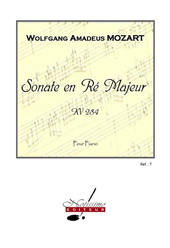 Mozart sonata in d major kv284 piano book piano
