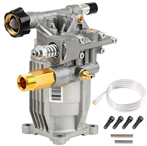 "YAMATIC 2800 PSI 2900 PSI Pressure Washer Pump Horizontal 3/4"" Shaft Replacement Power Washer Pump 2.3 GPM for 309515003 308418007 K2400HH and Many Other Models"
