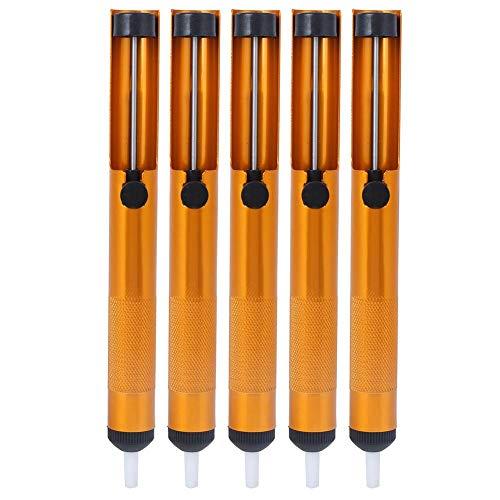 Nikou Saugzinnpistole-5St. Vollaluminium Manuelles Gold-Vakuumschweißgerät Schweißwerkzeug