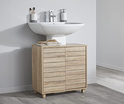 House & Homestyle - Mobile sottolavello, 60 x 60 x 30 cm, colore: Marrone