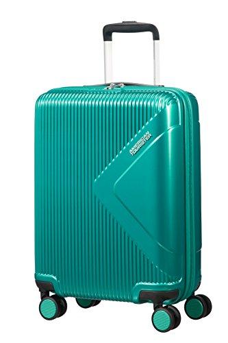 American Tourister Modern Dream Spinner Bagaglio a Mano, 55 cm, 35 L, Green (Emerald Green)