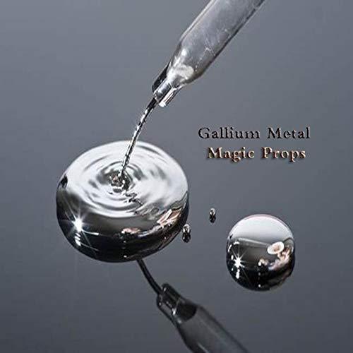 Gallium Metal 50g 100g Ga 99.99% Pure DIY Toy magican Prop Gift Syringe and Robot Mold (50g)