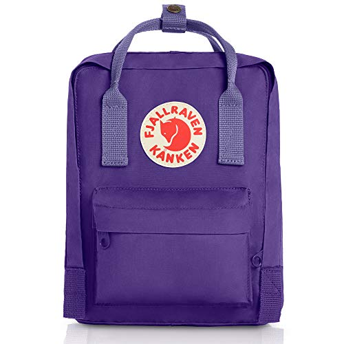 FJÄLLRÄVEN Kånken Mini Rucksack, Purple-Violet, 29 x 20 x 13 cm, 7 L