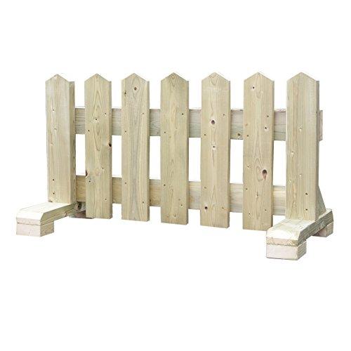 木製 ペット フェンス 幅90cm -ナチュラル- 【受注製作】 小型犬用 サークル 手作り ウッドフェンス 犬 ペット 屋外 仕切り ゲート 飛び出し防止