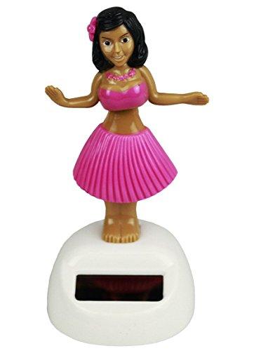Solar Wackelfigur Hula Girl in 3 versch. Farben, Farbe:pink