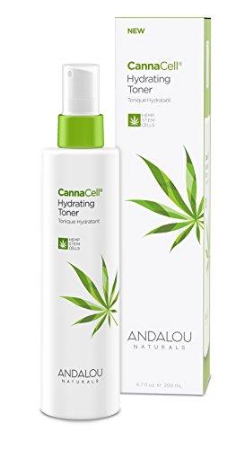Andalou Naturals CannaCell Hydrating Toner, 6.7 Ounces