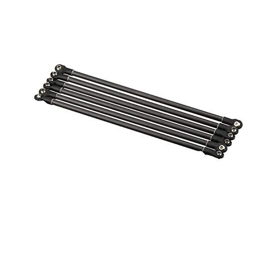 WNJ-TOOL, 6pcs Wurde Kossel Delta Kossel Installierte 5 * 3/6 * 4mm 18 / 20cm Magnethalterung Fiber Carbon-Rod Parallelarms for Mini 5347 for K800 (Größe : Type A 5x3 18cm)