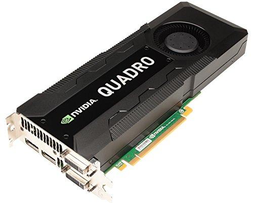 HP C2J95AT - Tarjeta gráfica (Quadro K5000, 2560 x 1600 Pixeles, NVIDIA, 4 GB, GDDR5-SDRAM, 256 Bit)