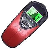 Scicalife Detector de Pared con Localizador de Pernos Detector de Pared con Centro Electrónico 4 en 1 Detector de Pared con Pantalla LCD para El Centro de Madera