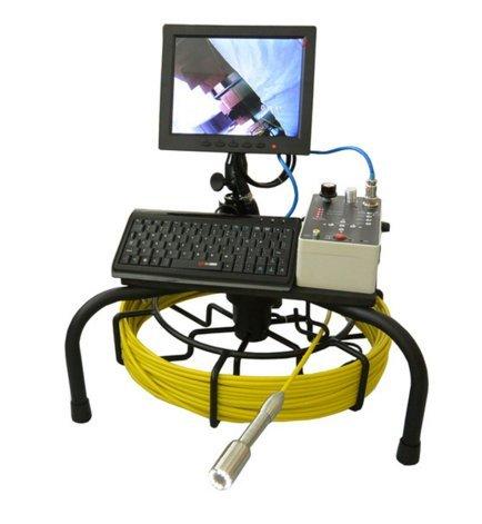 mabelstar 40m Cable de Empuje Caliente Venta inspección Serpiente cámara Tubo de Drenaje subterráneo con Meterage Contador