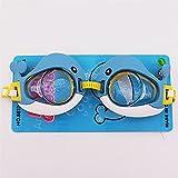 ZEWYXGS Gafas de natación Niños de Dibujos Animados Jugando en el...