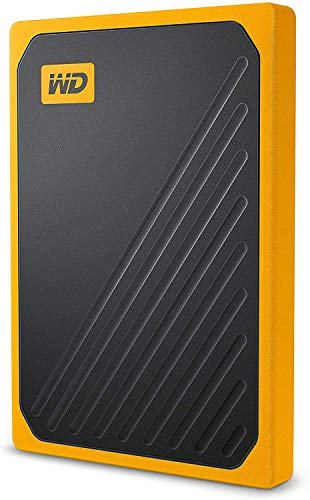 WD - My Passport Go 1TB - Disque SSD Portable - Finition Amber