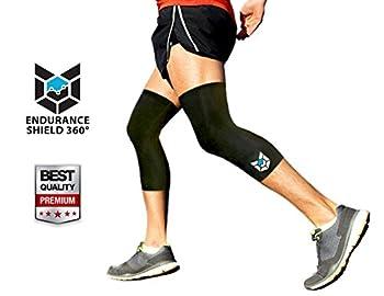 Endurance Shield 360 Compression Knee Sleeve  2 pcs  - Large