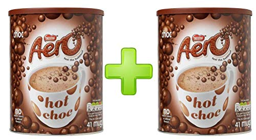 Nestle Aero Drinking Chocolate 2 X 1kg Ukb Pack Offer Just Add Hot Water
