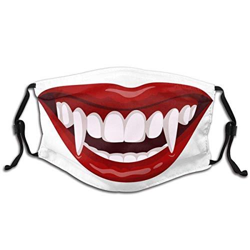 Vampir Open Mouth Mundschutz Mundabdeckungen