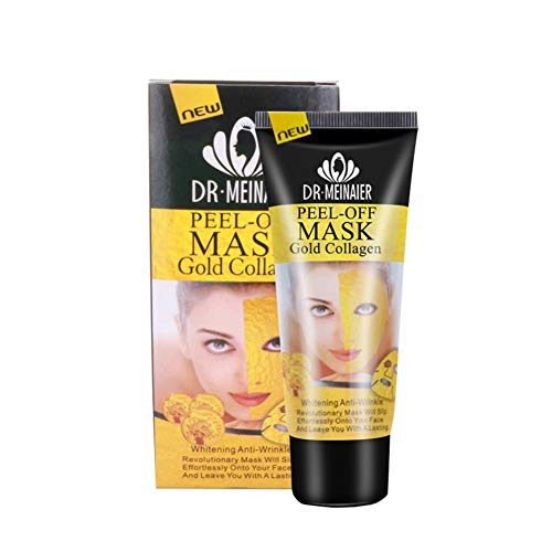 Masques de D'or, D'or Se Détacher Masque Anti Rides Point Noir Dissolvant Raffermissant Anti-âge Masque (A)