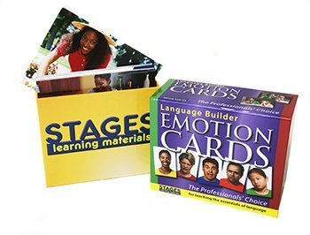 Language Builder Picture Cards - Emotions by Stages Learning Materials [Toy] (English Manual)