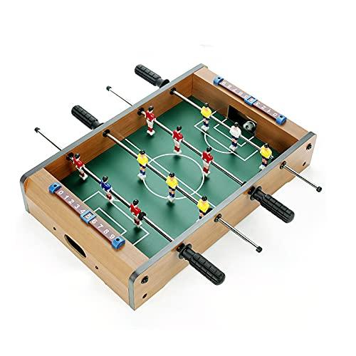 Futbolín Futbolín, Mini Fútbol De Mesa Portátil para Niños, Fútbol De Mesa Arcade para Actividades Familiares Y Sala De Juegos