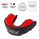 BLAZOR Sports Protège-Dents, pour Boxe, MMA, Rugby, Muay Thai, Hockey, Judo, Karate,...