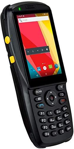 Scanner de poche UHF de codes à barres à deux dimensions avec écran tactile 3,5 pouces, Android 5.1 OS, pavé numérique, support 1D 2D 3G WiFi BT NFC, Terminal mobile for le système d'inventaire