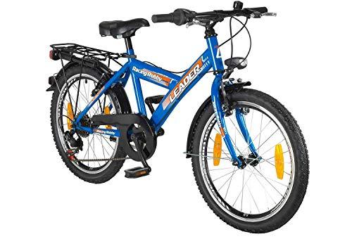 tretwerk DIREKT gute Räder Racing Robby 20 Zoll Kinderrad, Jungen-Fahrrad 6-Gang Kettenschaltung