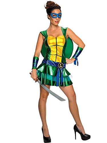 Disguise Sassy Deluxe Leonardo, Multi, Small (4-6) Costume