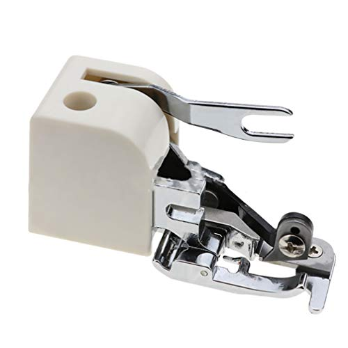 Exceart Naaivoeten Voor Naaimachine Roestvrijstalen Rolzoom-Drukvoet Voor Naaien Met Quiltmachine Accessoires Met Lage Schacht