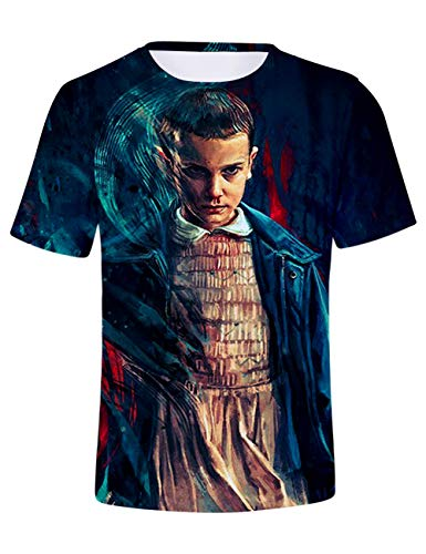 Camiseta Stranger Things Hombre, Camiseta Stranger Things Mu