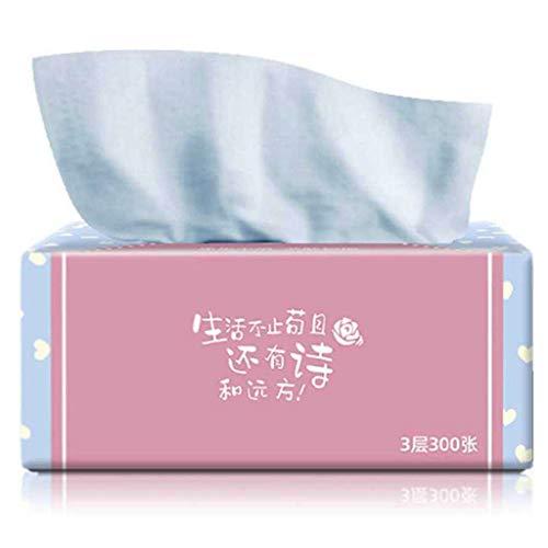 Hahuha A Wischtücher, Log Pumping Paper 4 Packungen Pumppapierhandtücher Babypapierhandtücher Haushaltsreinigungsmittel