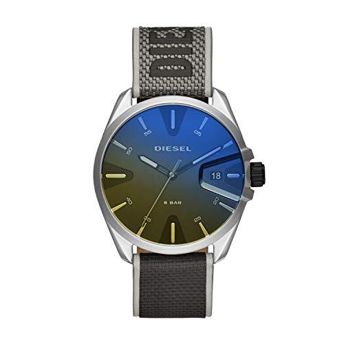 Diesel Herren Analog Quarz Uhr mit Nylon Armband DZ1902