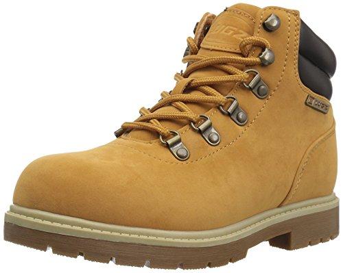 Lugz Men's Briarwood Mid Fashion Boot, Golden wheat/bark/cream/gum, 9 D US