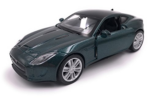 Welly Jaguar F Type Modelauto gelicentieerd product 1:34-1:39 / groen