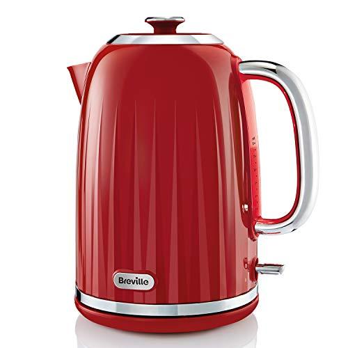 Breville Impressions VKJ956 - Hervidor eléctrico (1,7 L, 3 kW, hervidor rápido), color rojo