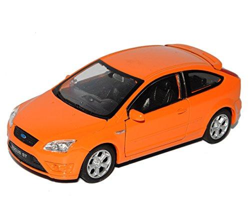 Welly Ford Focus St Orange 3 TÜrer 2009 Ca 1/43 1/36-1/46 Modellauto Modell Auto
