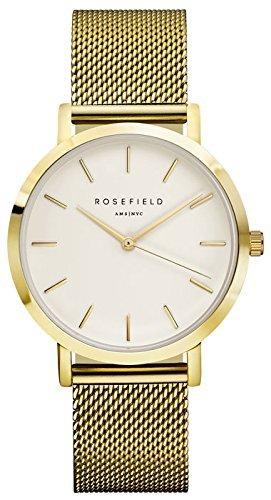 Rosefield Unisex-Uhr Digital mit Edelstahlarmband – MWG-M41