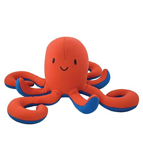Yogibo Mates Stuffed Animals, Huggable Cute Plush Toys for Kids, A Soft Huggable Friend, Sensory Toy with Soft Mini Bean Fill, Octopus